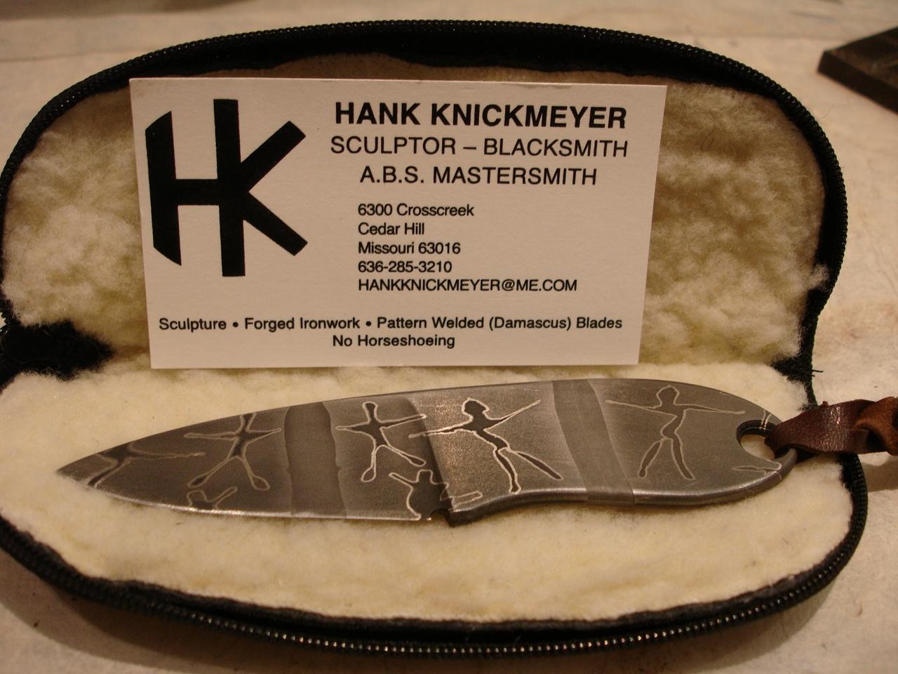 hank knickmeyer